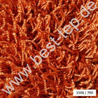 JAB Anstoetz CASA Plaza Teppich 3509/760 Rotorange