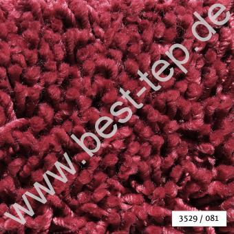 JAB Anstoetz COCO Vela Teppich 3529/081 Himbeere Paspel