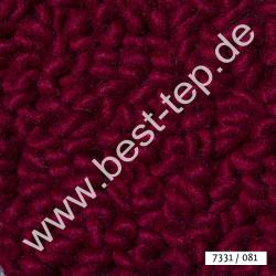 JAB Anstoetz LANA COLOR Pure Teppich 7331/081 Purpurrot