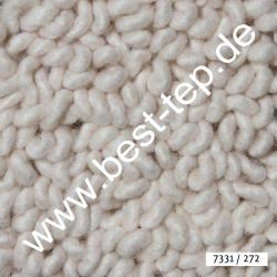 JAB Anstoetz LANA COLOR Pure Teppich 7331/272 Weiß