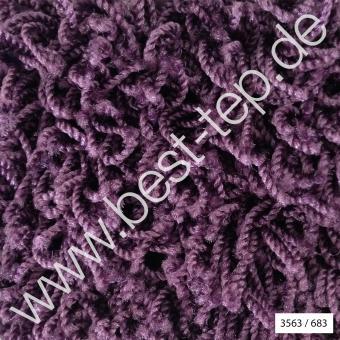 JAB Anstoetz COSY Moto Teppich 3563/683 Violett