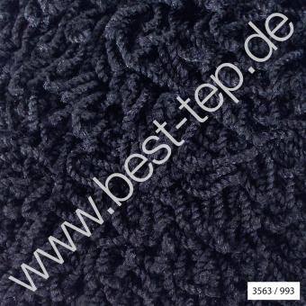 JAB Anstoetz COSY Moto Teppich 3563/993  Schwarz