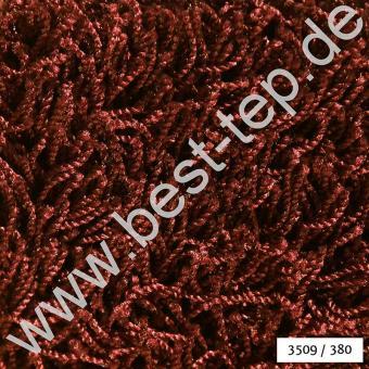 JAB Anstoetz CASA Plaza Teppich 3509/380 Dunkelrot
