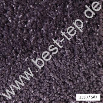 JAB Dream Teppich Stein 3530/582 P Alcantara-Paspel