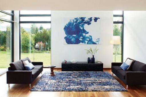 JAB Anstoetz CHARACTERS Tiles Teppich 7422/090